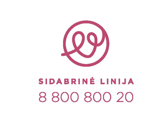 SL logotipas su telefonu (VERT)